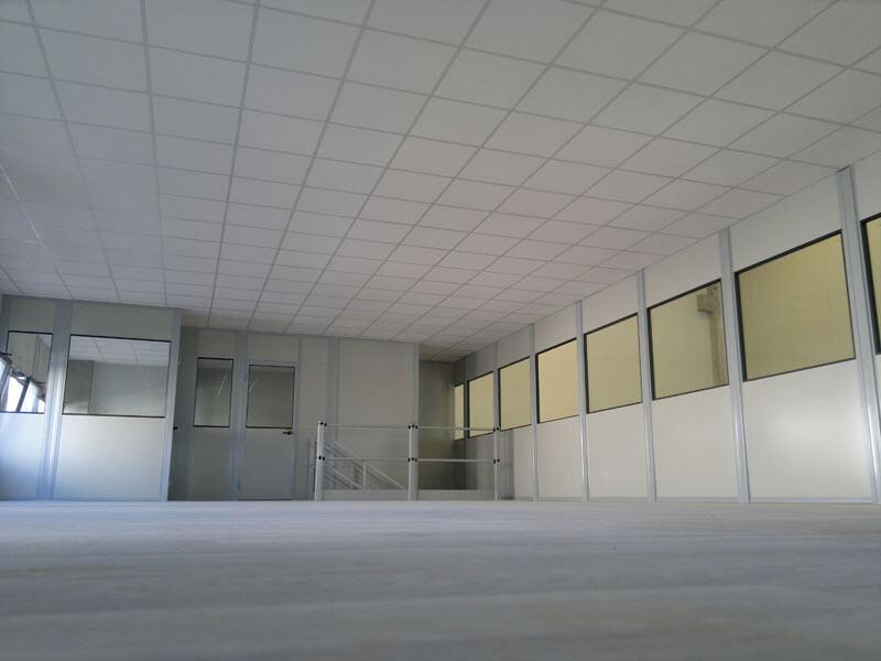 Pareti modulari per ufficio