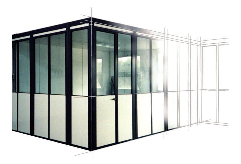 Uffici modulari prefabbricati
